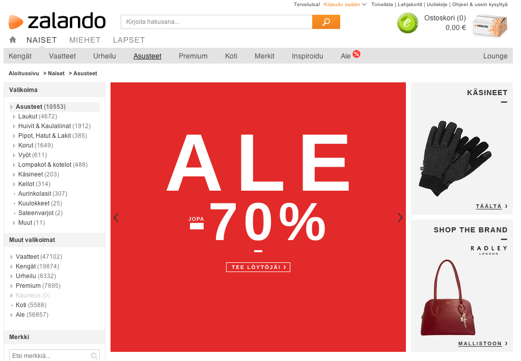 zalandon-verkkokauppaan-ostoksille-vaatekaappi